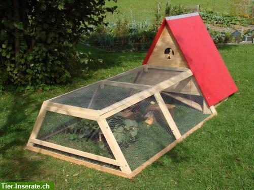 fahrbares meerschweinchen gehege kaninchen gehege zu. Black Bedroom Furniture Sets. Home Design Ideas