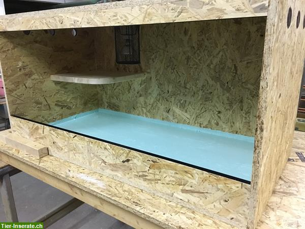 terrarienbau nach wunschmass tierinserat 284014. Black Bedroom Furniture Sets. Home Design Ideas
