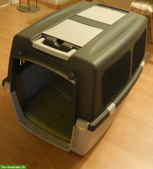hundebox neu ungebraucht gratis ein hundekoffer. Black Bedroom Furniture Sets. Home Design Ideas