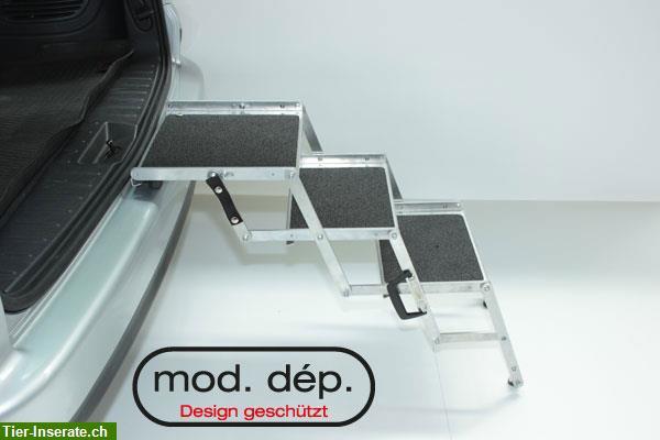 hundetreppe aus aluminium made in switzerland zu. Black Bedroom Furniture Sets. Home Design Ideas