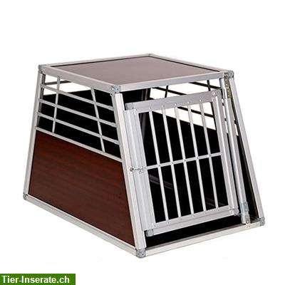alu hunde transportbox m auto transport box zu verkaufen tierinserat 217761. Black Bedroom Furniture Sets. Home Design Ideas