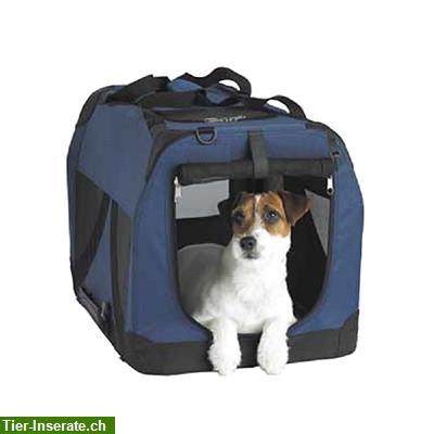 hunde transportbox faltbar aus stoff l zu verkaufen. Black Bedroom Furniture Sets. Home Design Ideas