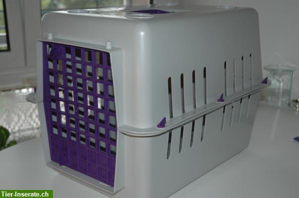 transportbox f r katzen und hunde tierinserat 211175. Black Bedroom Furniture Sets. Home Design Ideas