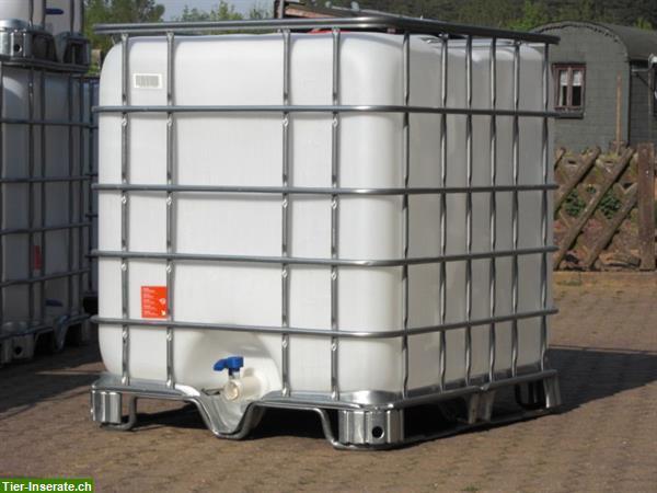 gebrauchte 1000 liter ibc kunststofftanks zu verkaufen tierinserat 285669. Black Bedroom Furniture Sets. Home Design Ideas