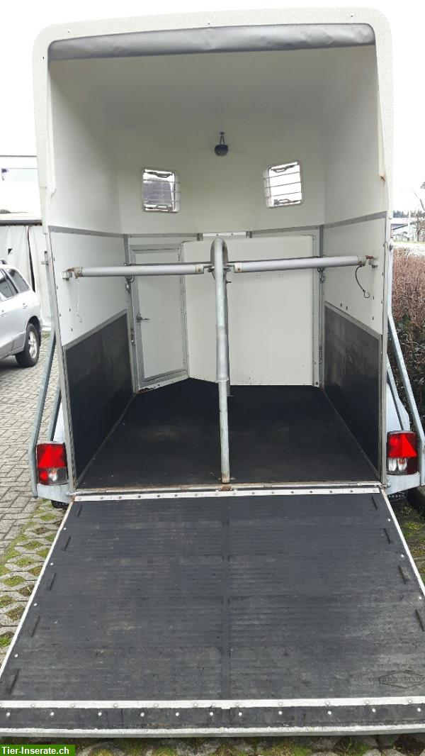 occasion 2er pferdeanh nger b ckmann pa2000 blau. Black Bedroom Furniture Sets. Home Design Ideas