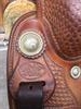 "Bob's Custom Saddle - Cowboy Reiner - 16"" Sitz"